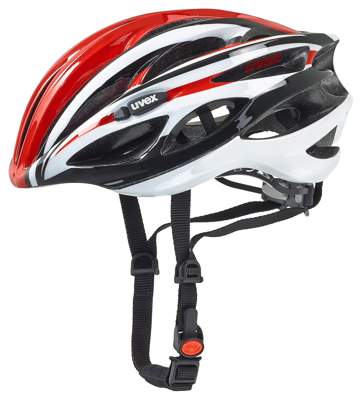 UVEX RACE 1, RED-WHITE 2016 55-59 cm