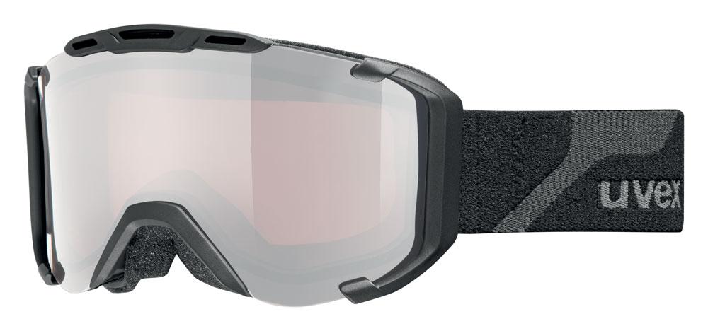 UVEX SNOWSTRIKE PM, black mat/ltm silver S5504182026