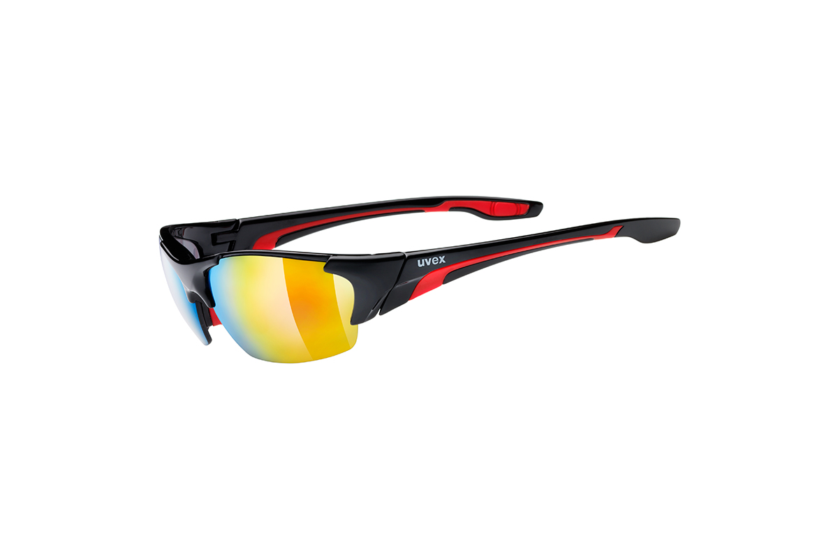 UVEX BLAZE III, BLACK RED