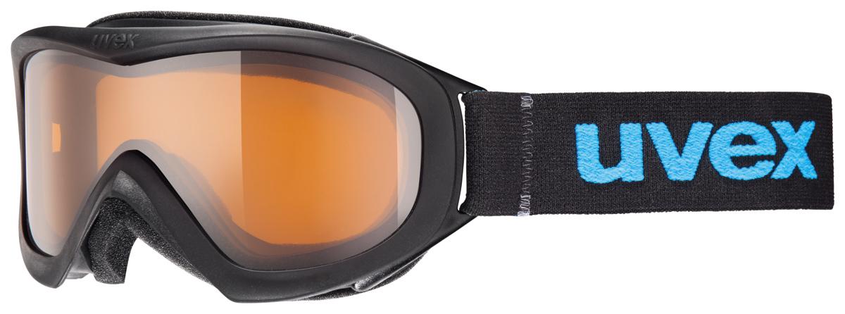 UVEX WIZZARD DL, black/lasergold lite S5538122422
