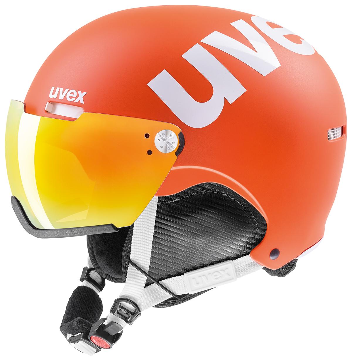 UVEX HLMT 500 VISOR orange mat S566213800 17/18 55-59 cm