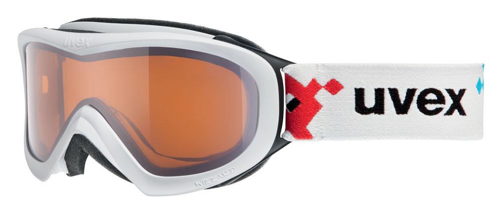 UVEX WIZZARD DL, white pacman/lasergold S5538121022