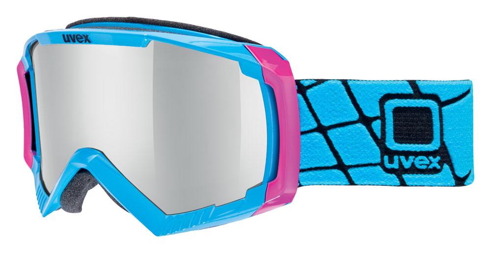 UVEX APACHE II, pink cobalt/litemirror silver S5506244026