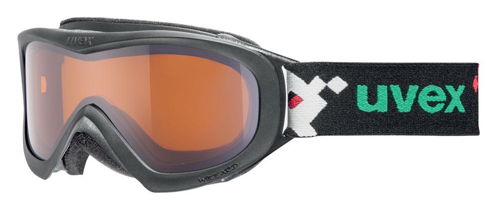 UVEX WIZZARD DL, black pacman/lasergold S5538122722