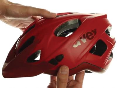 UVEX STIVO CC, RED-DARK RED MAT