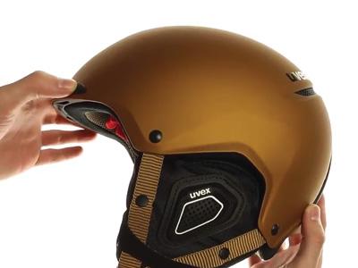 UVEX JAKK+ copper-black mat S566...